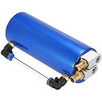 KKMOON Kit de Récupérateur d'huile Universel - Oil Catch Can Réservoir d'huile pour Auto Voiture( bleu)