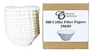 500 x 3 Pint Commercial Coffee Filter Papers by EDESIA ESPRESS