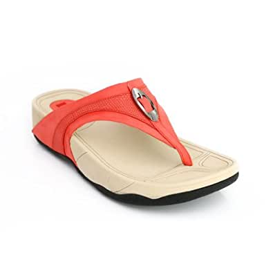 Lord's Women's Fit Flop Red Slippers Size - 9 -4669R91699