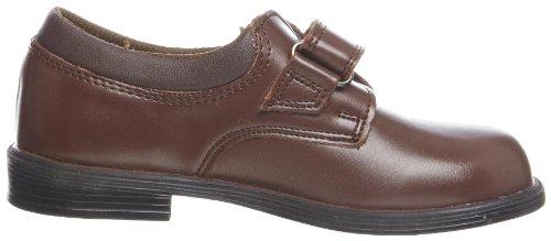 Toughees Shoes  Class Velcro,  Jungen Schule Braun