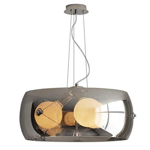 Lampe Industrieller Wind-Kronleuchter - Kreativer Dekoration-Jungen-Motorrad-Leuchter-Bekleidungsgeschauml;ft-Bar-Leuchter (Farbe : Warmes Licht-5W/68cm)