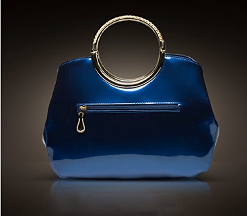 LAIDAYE Weibliche Art Und Weise PU-Lackleder Handtasche Große Tasche 1