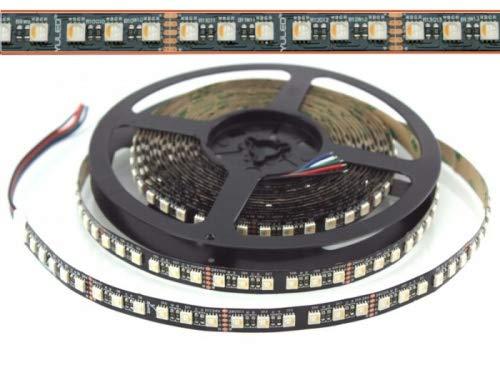 LED Flex Stripe UHP 6m RGBW-XC 96x 4-in1 LEDs/m RGB+warmweiss 24V Black-PCB