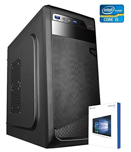PC DESKTOP COMPUTER FISSOLICENZA WINDOWS 10 PROASSEMBLATO COMPLETO Intel KABY LAKE i5-7400 3.50 GhzIntel HD 630 4KRAM 8GBHD 1TBMASTERIZZATOREDILC OFFICE PREMIUM EASY