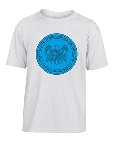 T-Shirtshock - T-shirt Kinder TM0381 National Guard Bureau usa, Größe 9-11jahre (Guard National T-shirt)