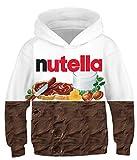 amenxi sweats à capuche enfant garçons filles 3d imprimé hoodie poches à cordon sweat-shirt