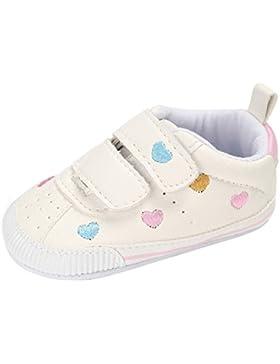 Minuya Neugeborenes Baby Mädchen Prinzessin Schuhe Weiche Sohle Anti-Rutsch Casual Sneaker Schuhe