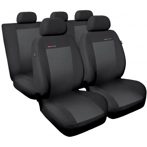 Preisvergleich Produktbild Universelle Schonbezüge Sitzbezüge Komplettset Auto-Dekor Elegance CITROEN BX, C3, C4, C5, CX, XANTIA, XM, XSARA, ZX, BERLINGO, NEMO, C-ELYSSE, DS3, DS4, DS5 (Grau 3)