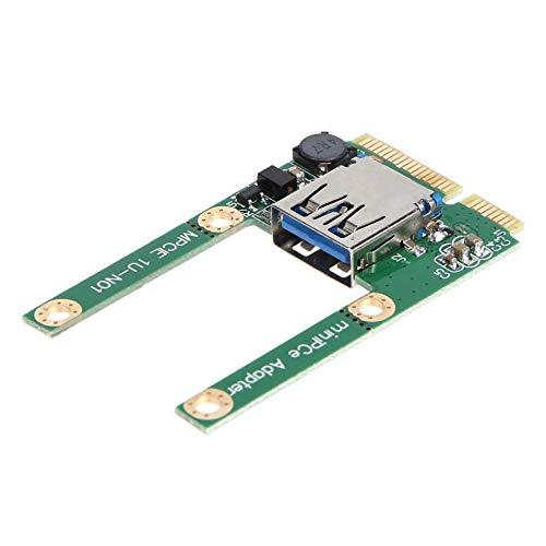 JingShuiKeJi-UK Mini PCI-E auf USB 3.0 PCI Express Karte PCI-E auf USB 3.0 Erweiterungskarte