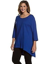 Ulla Popken Femme Grandes tailles Tunique jersey 711431