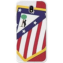 Becool TPU-SG244-ATM08 - Funda Gel Flexible Atlético de Madrid para Samsung Galaxy J7 2017 diseño escudo 1, Multicolor