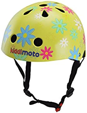 Kiddimoto Helmet Medium Flower, Head protection with style