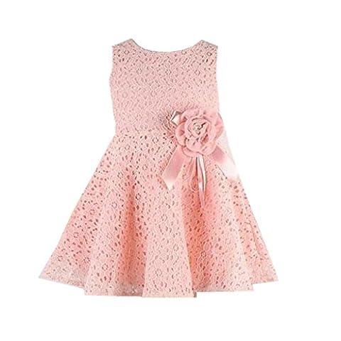 Rose Princesse Twinkle Costume Enfant - Bébé Robe, IMJONO 1 PC Filles Robe