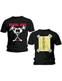 PEARL JAM - STICKERMAN - OFFICIAL MENS T SHIRT
