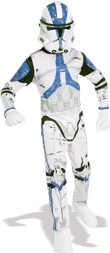 Star Wars Clone Trooper Kostüm für Herren, Größe:M/L (Kostüm Clone Star Wars)