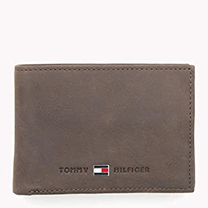 Tommy Hilfiger Herren Johnson Mini CC Flap and Coin Pocket Geldbörsen, 11x8x2 cm