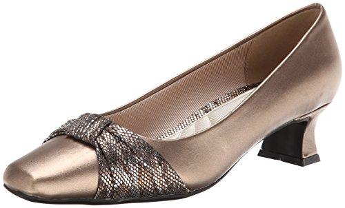 Easy Street Damen Waive, Bronze 38 M EU (Leder-heels Bronze)
