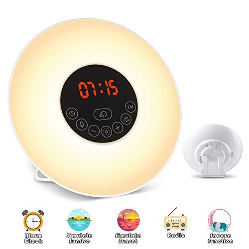 Elfeland Wake Up Light Despertador Luz Noche