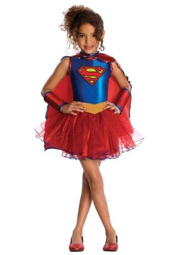 81627-TODD M-dchen Supergirl Kost-m Tutu KLEINKINDM-DCHEN (Supergirl Tutu Kind Kostüme)