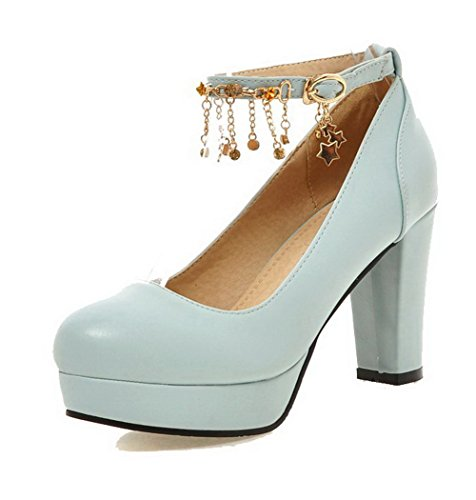 allhqfashion-womens-soft-material-round-closed-toe-high-heels-buckle-solid-pumps-shoes-blue-37