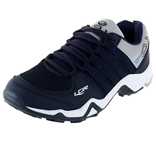 Lancer Men's Blue Grey Running Shoes-7 UK/India (41 EU) (CUBA-14-NBL-LGR-7)