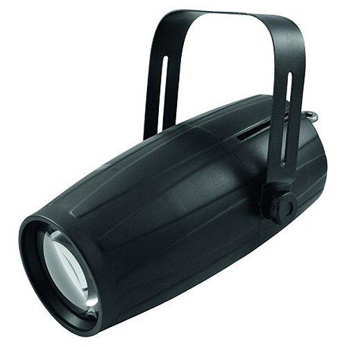 Eurolite LED PST-15W QCL DMX Spot | Eng abstrahlender Pinspot mit 15-Watt-4in1-LED in RGBW und DMX | Perfekt für Spiegelkugeln und Discokugeln