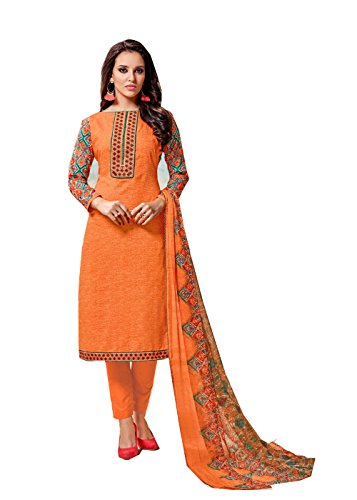 BKRKJ Women's Jam cotton Lawn Fabric Unstitched Dress Material Party Wear New...