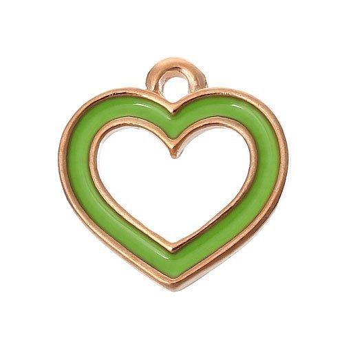 pacco-3-x-verde-oro-rosa-smalto-14mm-ciondoli-pendente-cuore-zx12480-charming-beads