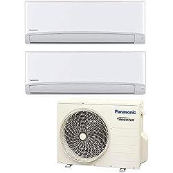 Climatizzatore 12000 + 12000 Btu Dual Split Inverter con Pompa di Calore Classe A++/A+