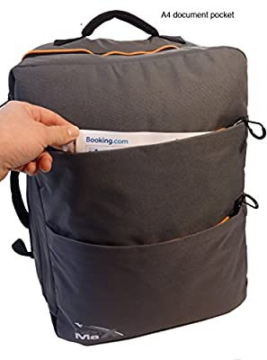 Cabin Max Edinburgh Carry On backpack with padded notebook/ laptop/ipad compartment