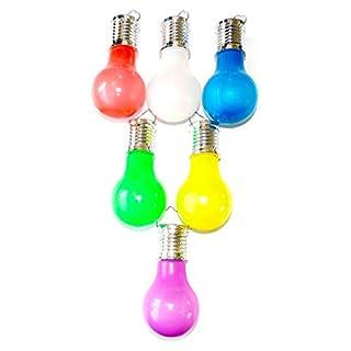 Alma Garden 800342 Solar Glühbirne 6 Stück LED Dekoleuchte