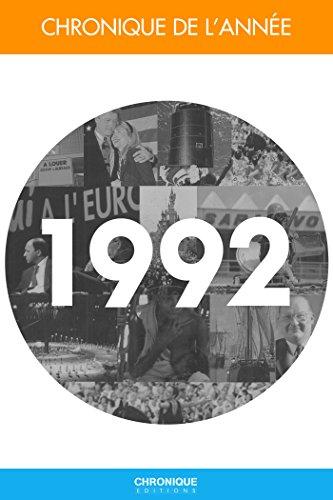 Chronique de l'année 1992 par Éditions Chronique