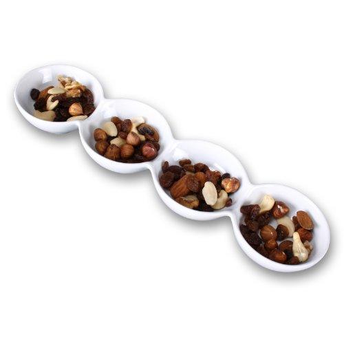 """Edle Porzellanschale Modell """"Quadro"""" als Tischdeko. Snackschale, Dipschale, oder Teelichthalter"""