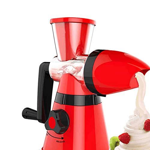 Haushalt Eismaschine Kinder Mini Eismaschine Obst DIY Hausgemachte Eismaschine