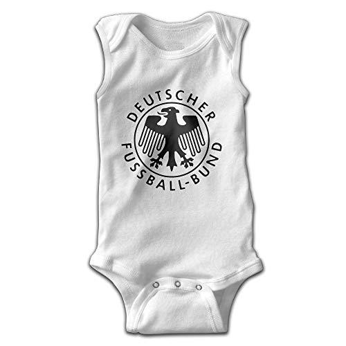 Natasha Scott Deutschland Germany Eagle Crest Deutsche Fußball Baby Kletterbekleidung Ärmellose Coolclimbing Shorts (Ärmelloses Eagle)
