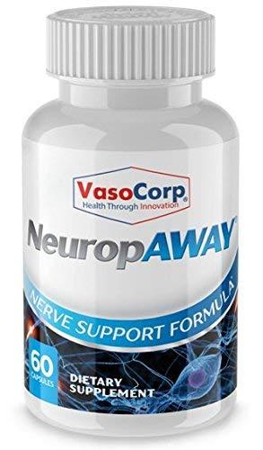 NeuropAWAY Nerve Unterstützung Formel - Neuropathie Schmerzlinderung, brennende Füße, Kribbeln, Taubheit, Schmerzen in den Beinen (60 Kapseln - Tag) (Fuß-creme-säure)