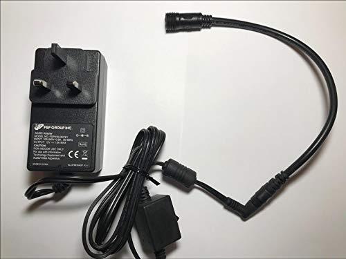 Ersatz für Vega AC/DC Adapter Modell EHT-5-IP 12VDC MAX 5W Konstante Spannung -