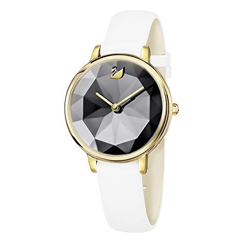 Swarovski Damen-Uhren Analog Quarz One Size Leder 87538834 -