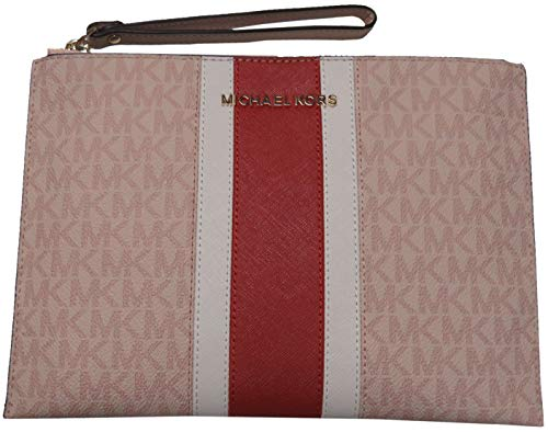 Michael Kors Jet Set Travel XL Zip Clutch Ballet