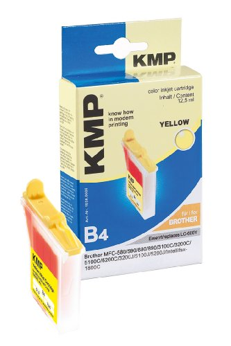 Preisvergleich Produktbild KMP B4 Tintenpatrone (ersetzt LC-600Y) yellow