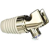 06505823 Hansgrohe-Supporto per braccio doccia, in nichel spazzolato