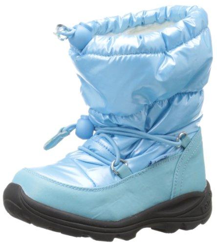 Kamik PRANCER Unisex-Kinder Warm gefütterte Schneestiefel Blau (blue BLU)