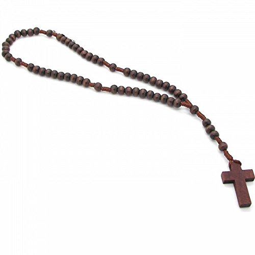 corona-del-rosario-perle-di-legno-30-cm-pendente-con-croce-marrone