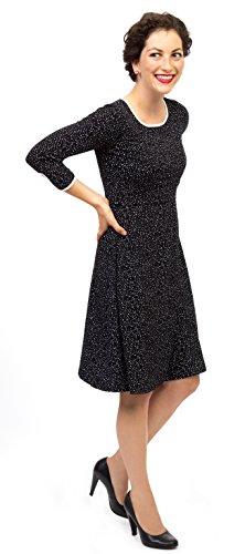 Viva la Mama I Umstandskleid festlich Stillkleid I Umstandsmode Schwangerschaft Damen I Schwangerschaftsmode Kleid Milla – schwarz - 3