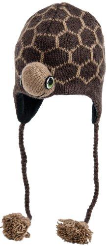 Nirvanna Designs chturtle Schildkröte Mütze mit Fleece, Braun, Kleinkind