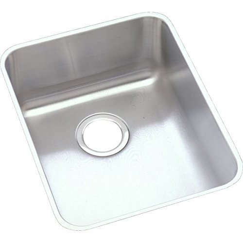 Elkao|#Elkay ELUHAD141850 18 Gauge Stainless Steel 16.5 Inch x 20.5 Inch x 4.875 Inch single Bowl Undermount Kitchen Sink, by Elkay (Elkay Undermount Kitchen Sink)