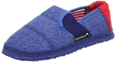 Nanga Eric 06/0069-30 Jungen Hausschuhe, Blau (Blau 30), EU 23
