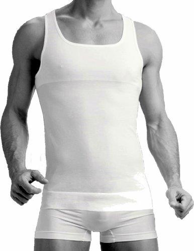 Uomo shape statuetta sgretolarsi corpo form wear canottiera all'estremità mutande bianco Large