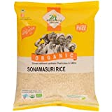 24 Mantra Organic Sonamasuri Raw Rice Polished, 1kg