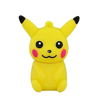 Pokémon Go Pikachu 8 Memory Stick Almacenamiento de Datos - Pendrive - Memoria USB Flash Drive 8 GB - amarillo
